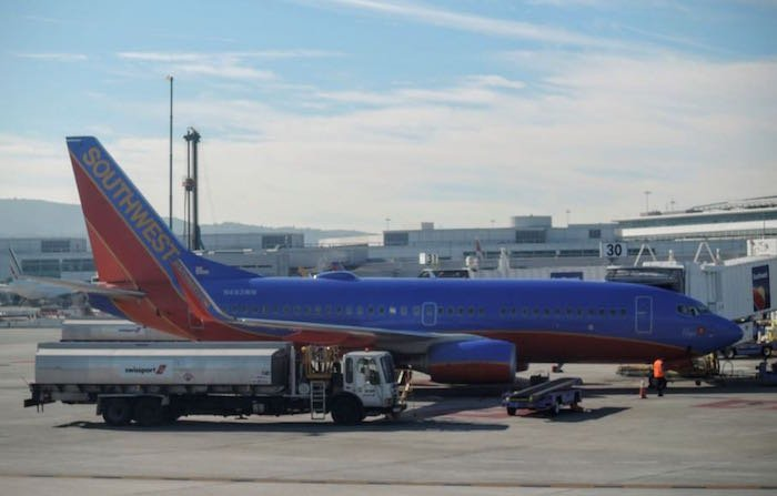 Southwest-WN-plane