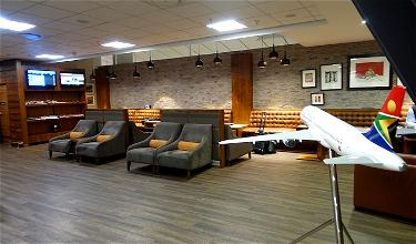 Review: South African Airways Domestic Lounge Johannesburg Airport