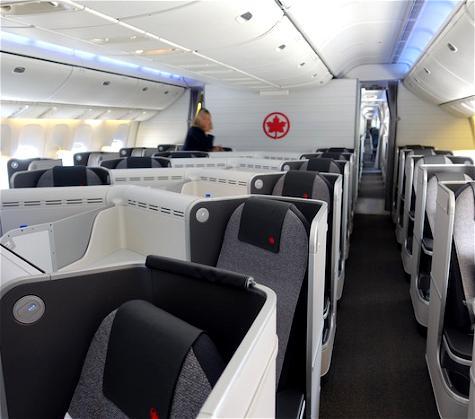 Review: Air Canada Business Class 777 London Heathrow To Toronto