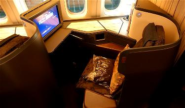Review: China Airlines Business Class 777-300ER Los Angeles To Taipei