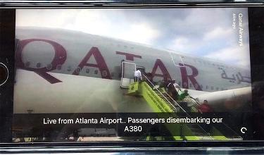 Qatar Airways' Inaugural Flight To Atlanta Gets Gate-Blocked By Delta