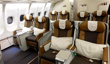 Review: South African Airways Business Class A330 Johannesburg To London