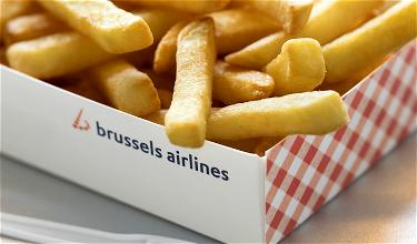 Yum: Brussels Airlines To Serve Fries & Belgian Waffles Onboard