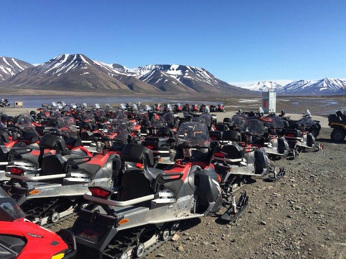 Longyearbyen-Snowmobile