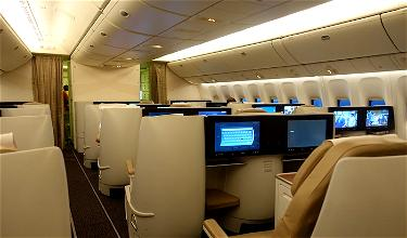 Review: Saudia Business Class 777 Colombo To Jeddah