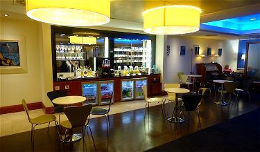 Review: British Airways Lounge Rome Airport