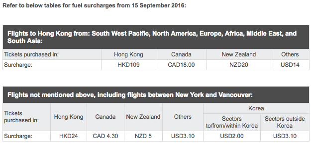 Cathay-Pacific-Fuel-Surcharges