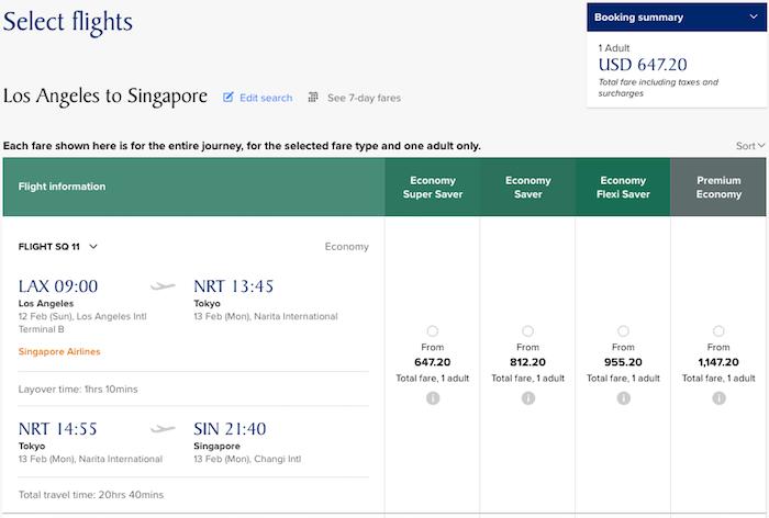 Singapore-Premium-Economy-Fare-3