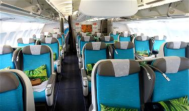 Review: Air Tahiti Nui Business Class A340 Los Angeles To Paris