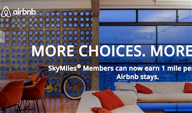 You Can Now Earn Delta Miles For Airbnb Stays
