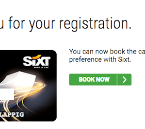 Get An Instant Status Match To Sixt Platinum