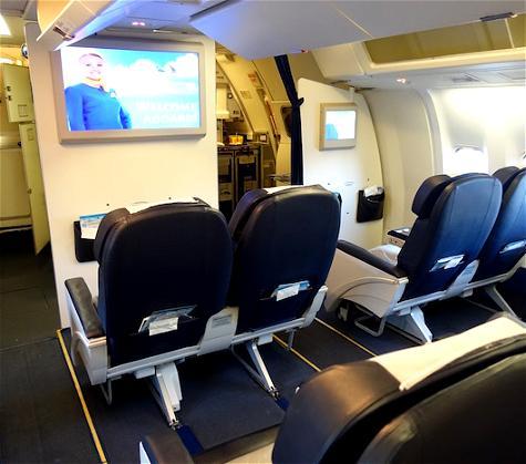 Review: Ukraine International Airlines Business Class 767 Kiev To New York