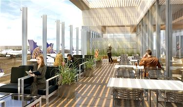 United Is Opening A Gorgeous New Lounge At LAX