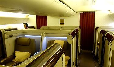 Review: Garuda Indonesia First Class 777-300ER London To Jakarta