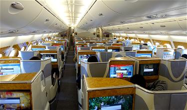Review: Emirates Business Class A380 Dubai To Los Angeles