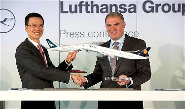 Cathay Pacific & Lufthansa Announce A New Partnership