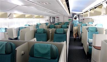 Review: Korean Air Business Class 747-8 San Francisco To Seoul