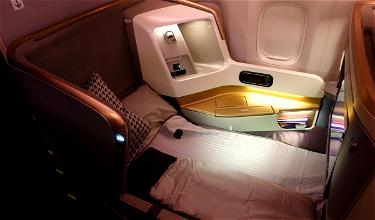 Review: Singapore Airlines Business Class 777-300ER Hong Kong To San Francisco