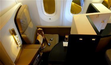 Review: Etihad Business Class 787 Washington To Abu Dhabi