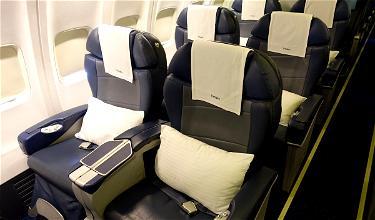 Review: Jet Airways Business Class 737 Dubai To Mumbai