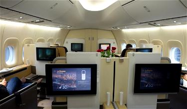 Extremely Rare: Lufthansa First Class Bookable In Advance Using Partner Miles