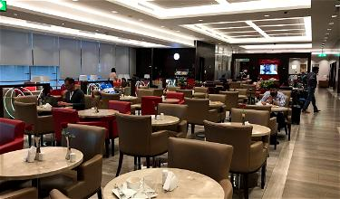 Review: Marhaba Lounge Dubai Airport