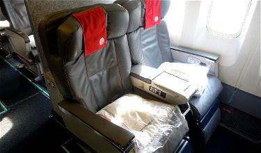 Review: Meridiana Business Class 767 Naples To New York