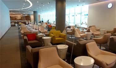 Review: SkyTeam Lounge Dubai Airport