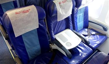 Review: Tunisair Business Class A320 London To Tunis