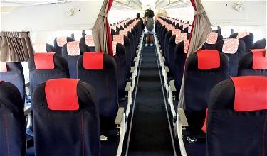 Review: Air France Business Class A318 Milan To Paris