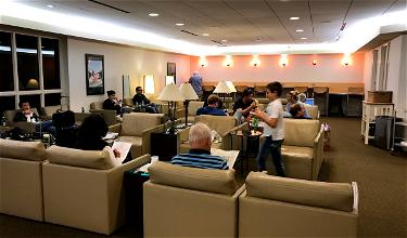 Review: Air France Lounge Boston Airport