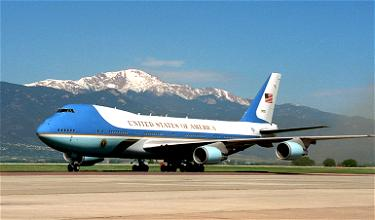Air Force One's Patriotic New Livery