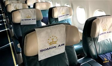 Review: Somon Air Business Class 737 Dushanbe To Dubai
