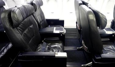 Review: United First Class 737 Houston To Los Angeles
