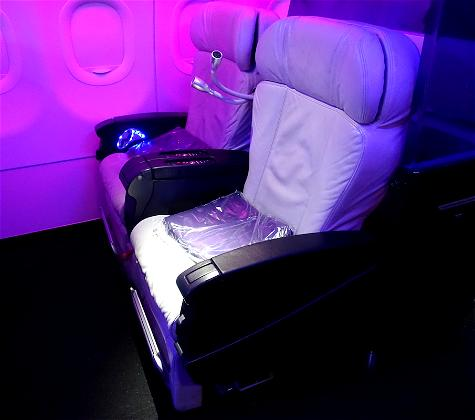 Mini-Review: Virgin America First Class Los Angeles To Chicago