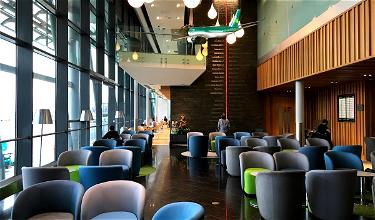 Review: Aer Lingus Lounge Dublin Airport