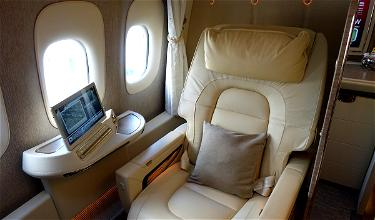 Review: Emirates New First Class 777 Dubai To Brussels