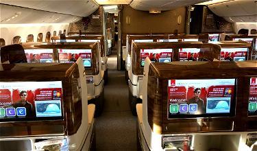 Whoa: Emirates Boeing 777 Flies With One Passenger