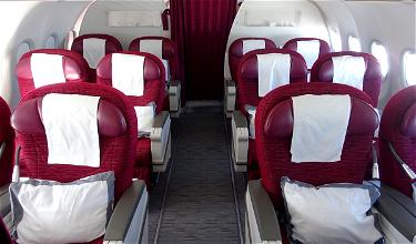 Review: Qatar Airways Business Class A320 Yerevan To Doha