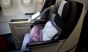 Review: Qatar Airways Business Class A320 Doha To Yerevan