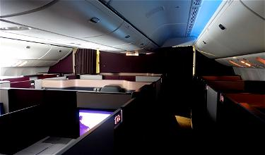 Review: Qatar Airways Qsuites Business Class 777 Doha To New York