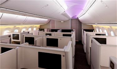 Shanghai Airlines' New 787 Features First Class & Business Class Suites With Doors!!!