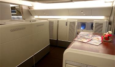 Review: China Eastern First Class 777-300ER Singapore To Shanghai