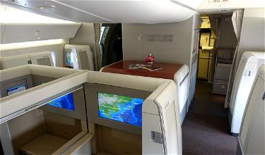 Review: China Eastern First Class 777 Shanghai To Los Angeles