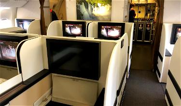 Review: TAAG Angola First Class 777 Lisbon To Luanda