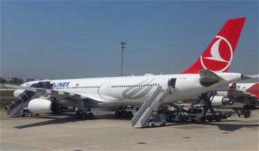 Oops: Turkish Airlines A330 Tries To Take Off From Newark Taxiway