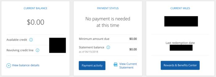 Barclaycard Arrival Plus Homepage