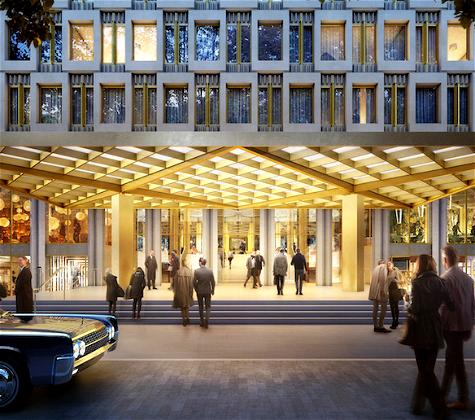 The Former US Embassy In London Is Being Converted Into To A Luxury Hotel