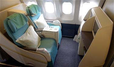 Korean Air Eliminating First Class On Dozens Of Routes