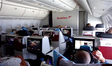 Review: Austrian Business Class 767 Newark To Vienna